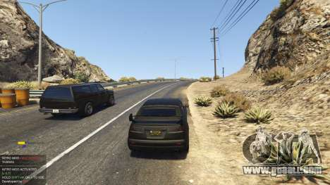 GTA 5 Nitro Mod (Xbox Joystick support) 0.7 fourth screenshot