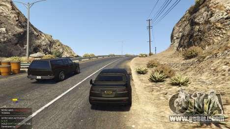 Nitro Mod (Xbox Joystick support) 0.7 for GTA 5