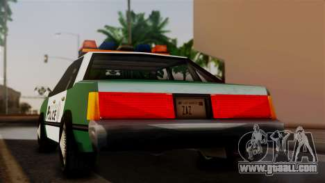 VCPD Cruiser for GTA San Andreas left view