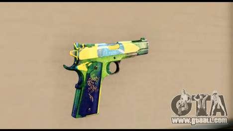 Brasileiro Pistol for GTA San Andreas second screenshot