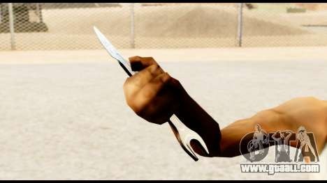 Wrench-knife for GTA San Andreas forth screenshot