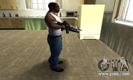 Modern Black M4 for GTA San Andreas third screenshot