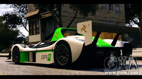 Radical SR8 RX for GTA 4 back left view