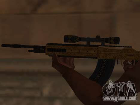 Marksman Rifle for GTA San Andreas third screenshot