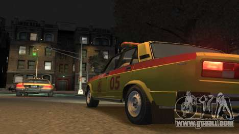 VAZ 2105 Gorsvet for GTA 4 left view