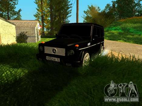 Mercedes-Benz G 320 for GTA San Andreas left view