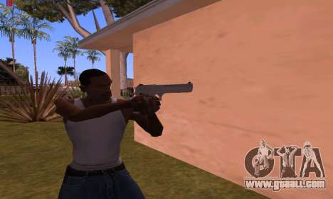 Deagle from Battlefield Hardline for GTA San Andreas second screenshot