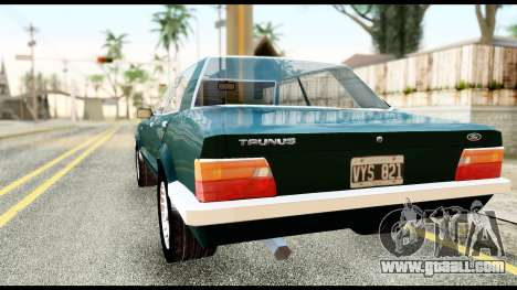 Ford Taunus 2.3 for GTA San Andreas left view