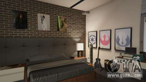 GTA 5 Star Wars Posters for Franklins House 0.5 third screenshot