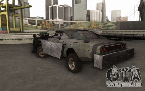 Dodge Charger Infernal Bulldozer for GTA San Andreas left view