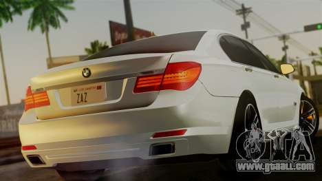 BMW 7 Series F02 2013 for GTA San Andreas left view