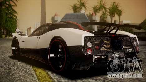 Pagani Zonda Cinque 2009 Autovista for GTA San Andreas left view