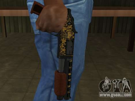 GTA 5 Sawed-Off Shotgun for GTA San Andreas