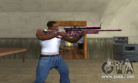 Lamen Sniper for GTA San Andreas third screenshot