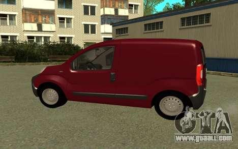 Fiat Fiorino for GTA San Andreas left view