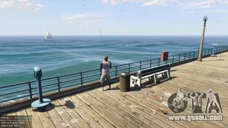 GTA 5 Fishing Mod 0.2.7 BETA fourth screenshot