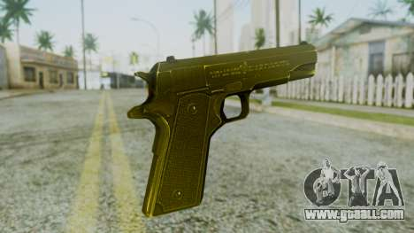 M1911 Pistol for GTA San Andreas second screenshot