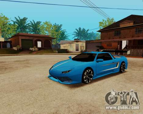 Infernus Lamborghini for GTA San Andreas right view