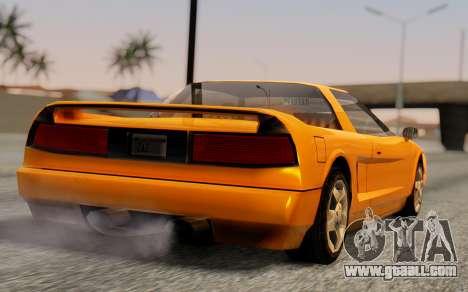 Infernus Hamann Edition Backup Standart for GTA San Andreas left view