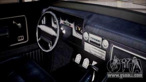 GTA 5 Vapid Slamvan Pickup for GTA San Andreas right view