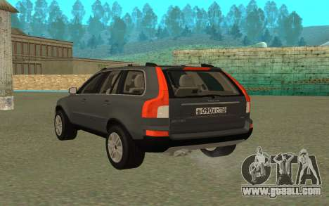 Volvo XC90 for GTA San Andreas left view