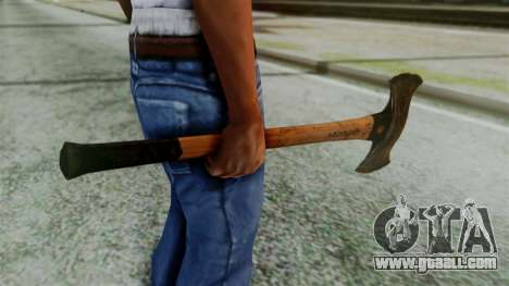 Doubleaxe from Silent Hill Downpour for GTA San Andreas second screenshot