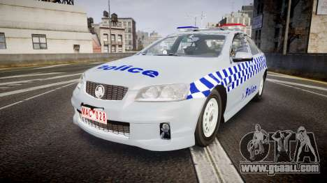 Holden Commodore Omega Victoria Police [ELS] for GTA 4