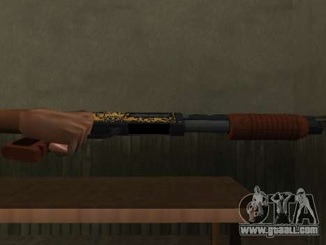 GTA 5 Sawed-Off Shotgun for GTA San Andreas second screenshot