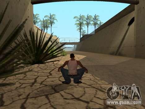 Ped.ifp Animation Gopnik for GTA San Andreas fifth screenshot
