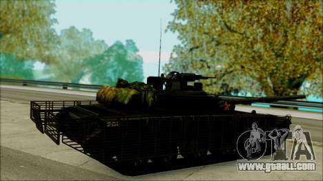 Type 99 BF4 for GTA San Andreas left view
