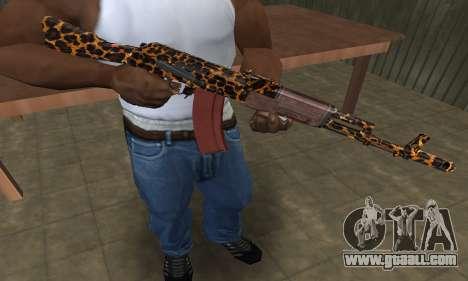 Leopard AK-47 for GTA San Andreas