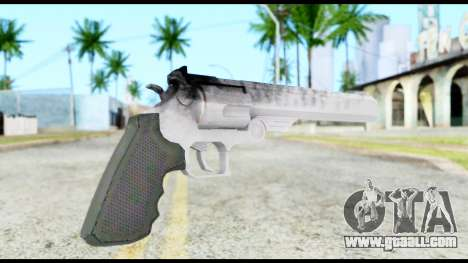 Desert Eagle from Resident Evil 6 for GTA San Andreas second screenshot