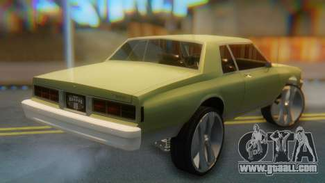Chevrolet Caprice for GTA San Andreas left view