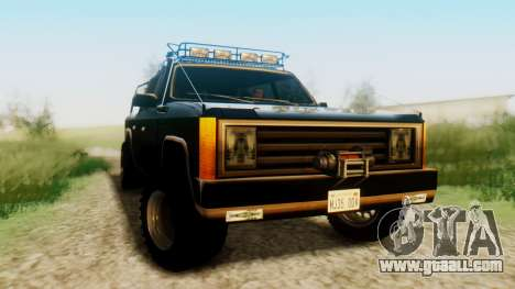 FBI Rancher Offroad for GTA San Andreas right view