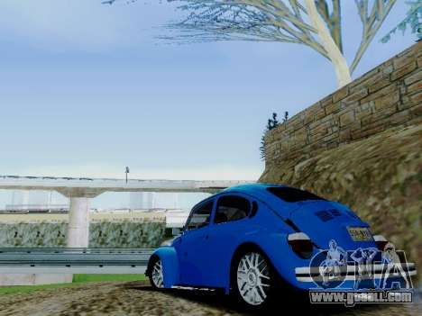 Volkswagen Beetle 1980 Stanced v1 for GTA San Andreas engine