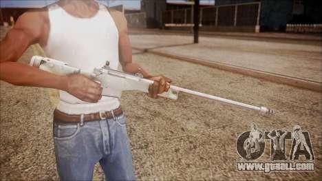L96 from Battlefield Hardline for GTA San Andreas third screenshot