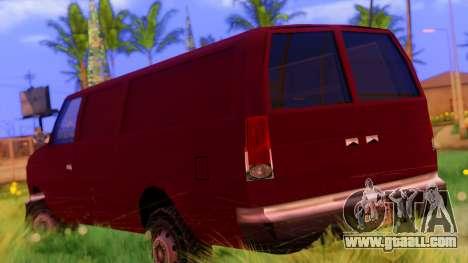Ambush Van for GTA San Andreas left view