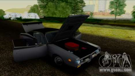 Dodge Charger Super Bee 426 Hemi (WS23) 1971 IVF for GTA San Andreas inner view
