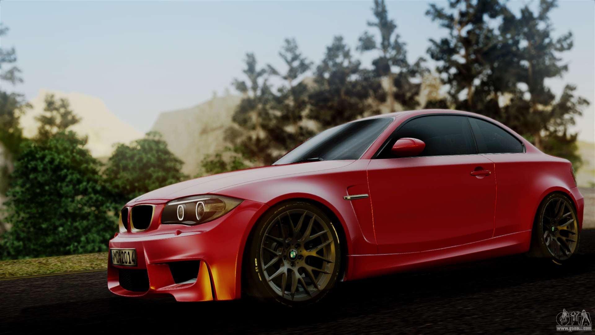 bmw 1m e82 v2 for gta san andreas. Black Bedroom Furniture Sets. Home Design Ideas