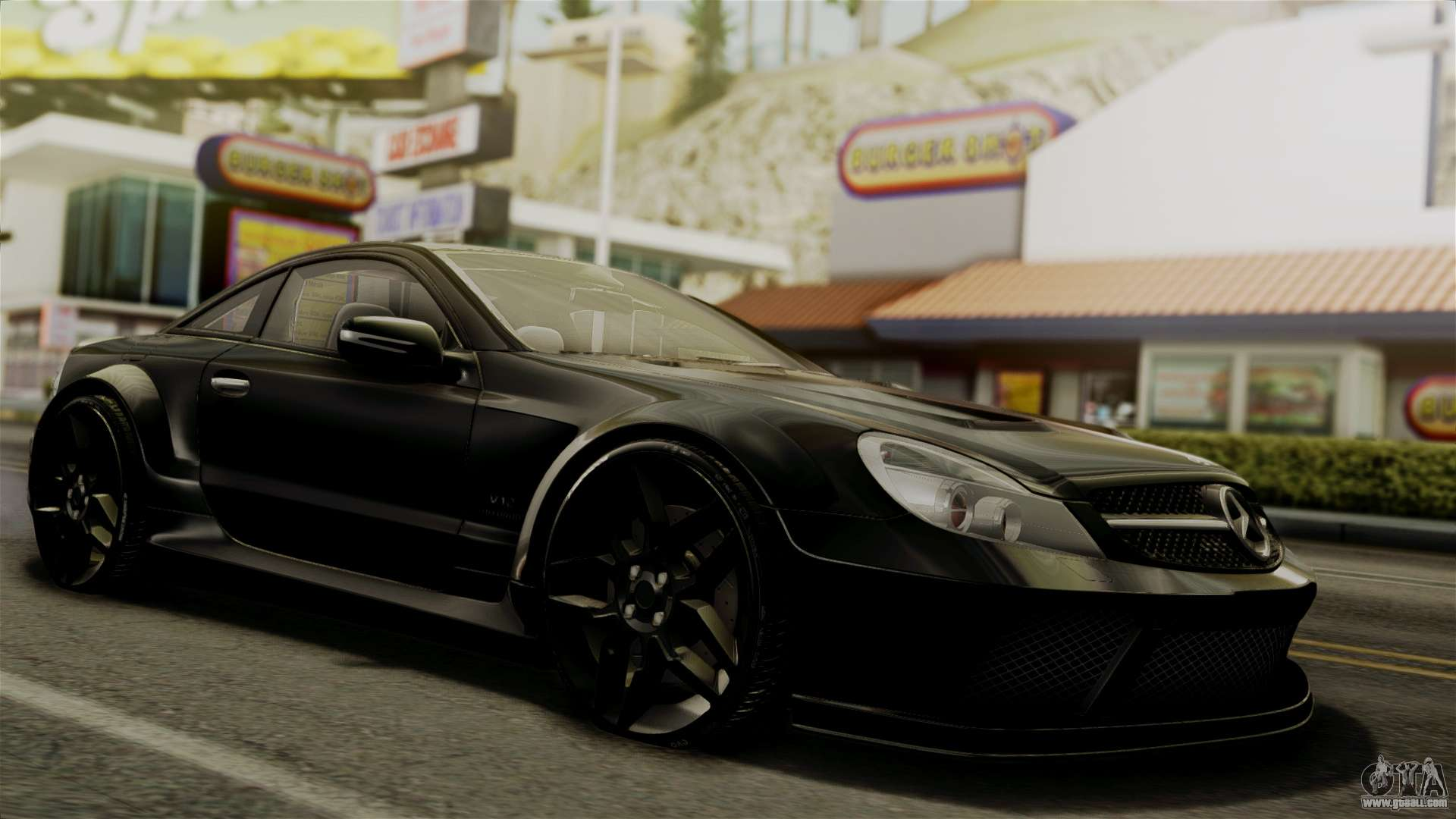 Mercedes benz sl65 e tuning for gta san andreas for Mercedes benz gta