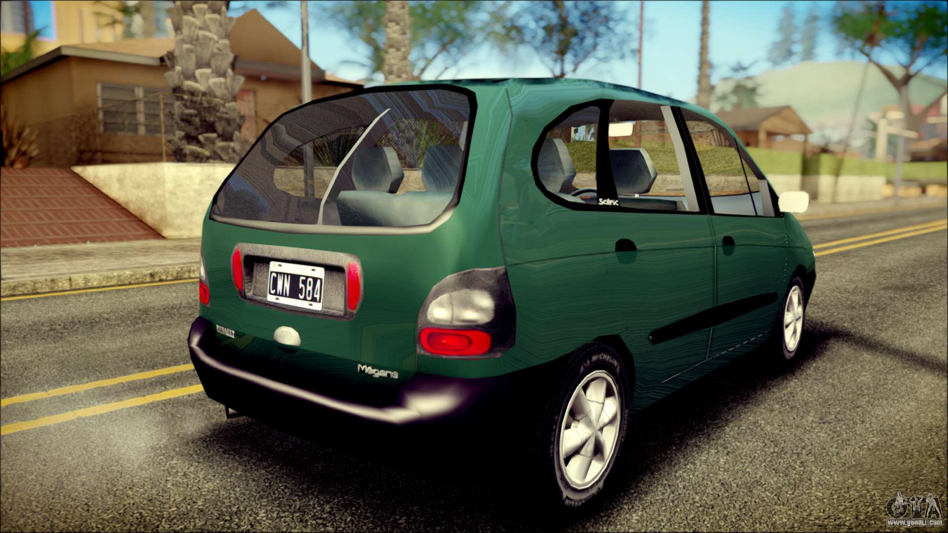 renault megane scenic for gta san andreas. Black Bedroom Furniture Sets. Home Design Ideas