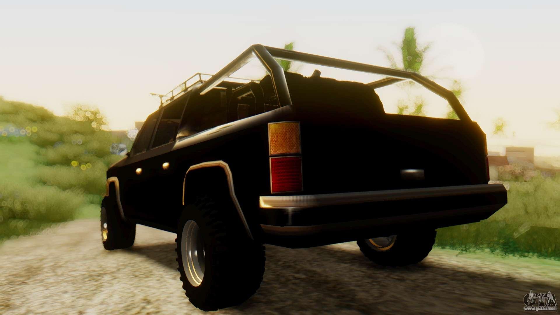 Fbi Rancher Offroad For Gta San Andreas