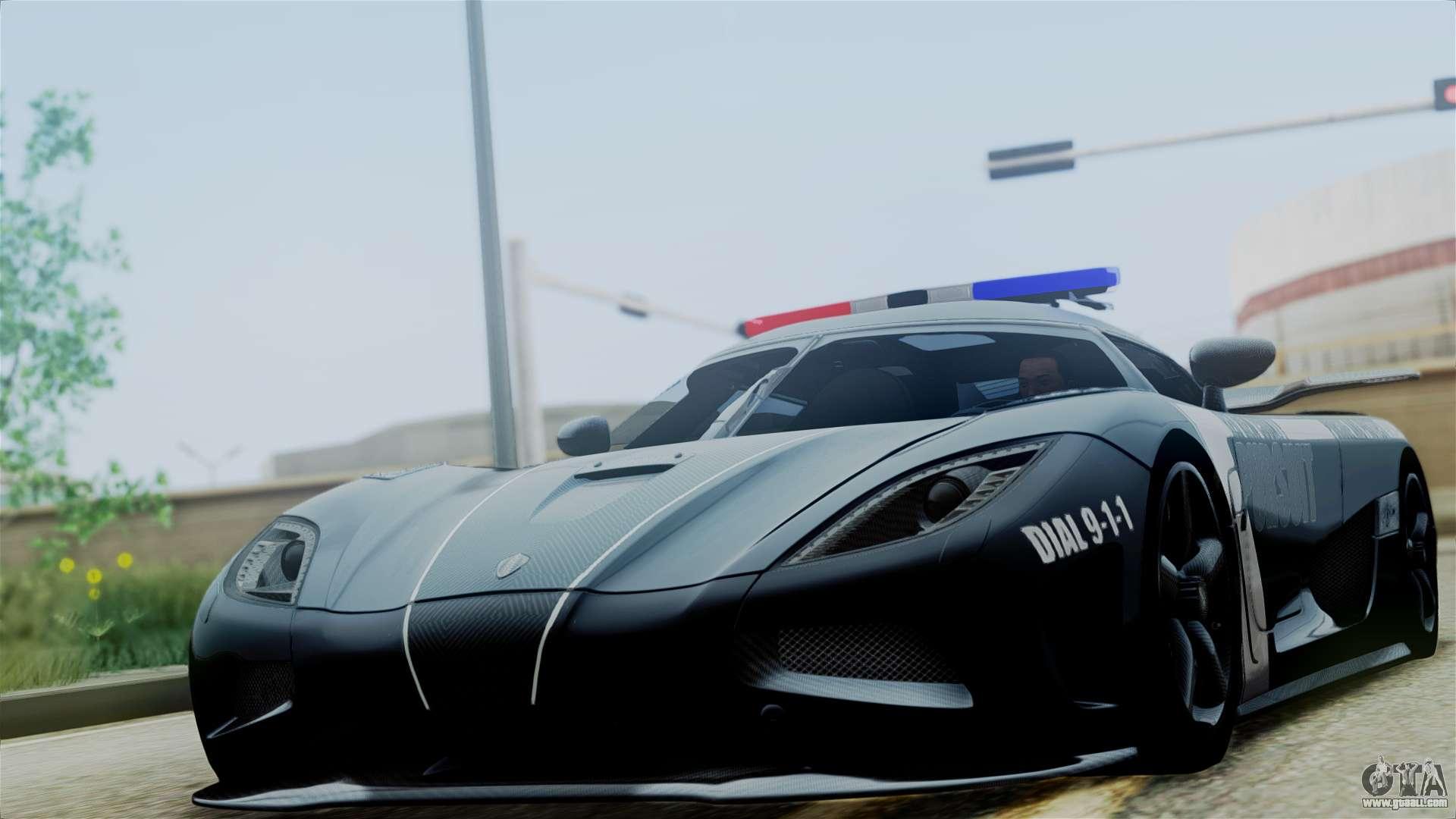 NFS Rivals Koenigsegg Agera R v3.0 for GTA San Andreas