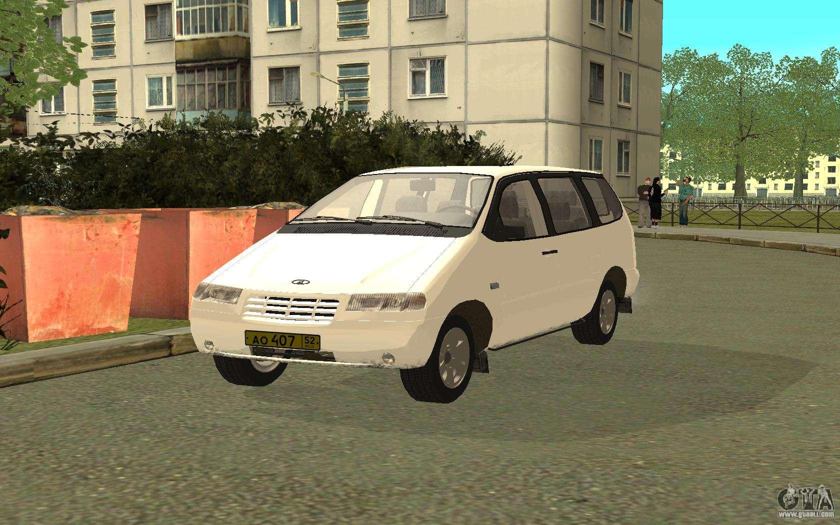 VAZ 2120 - the car is not for drift 49