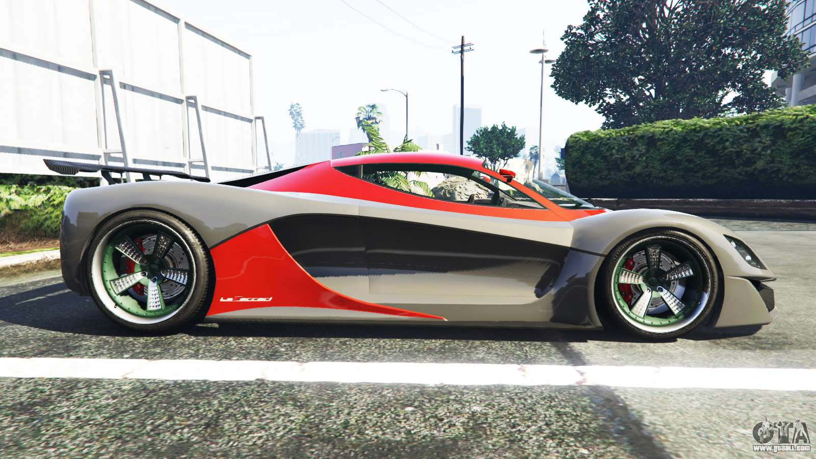 Grotti Turismo R La Ferrari for GTA 5