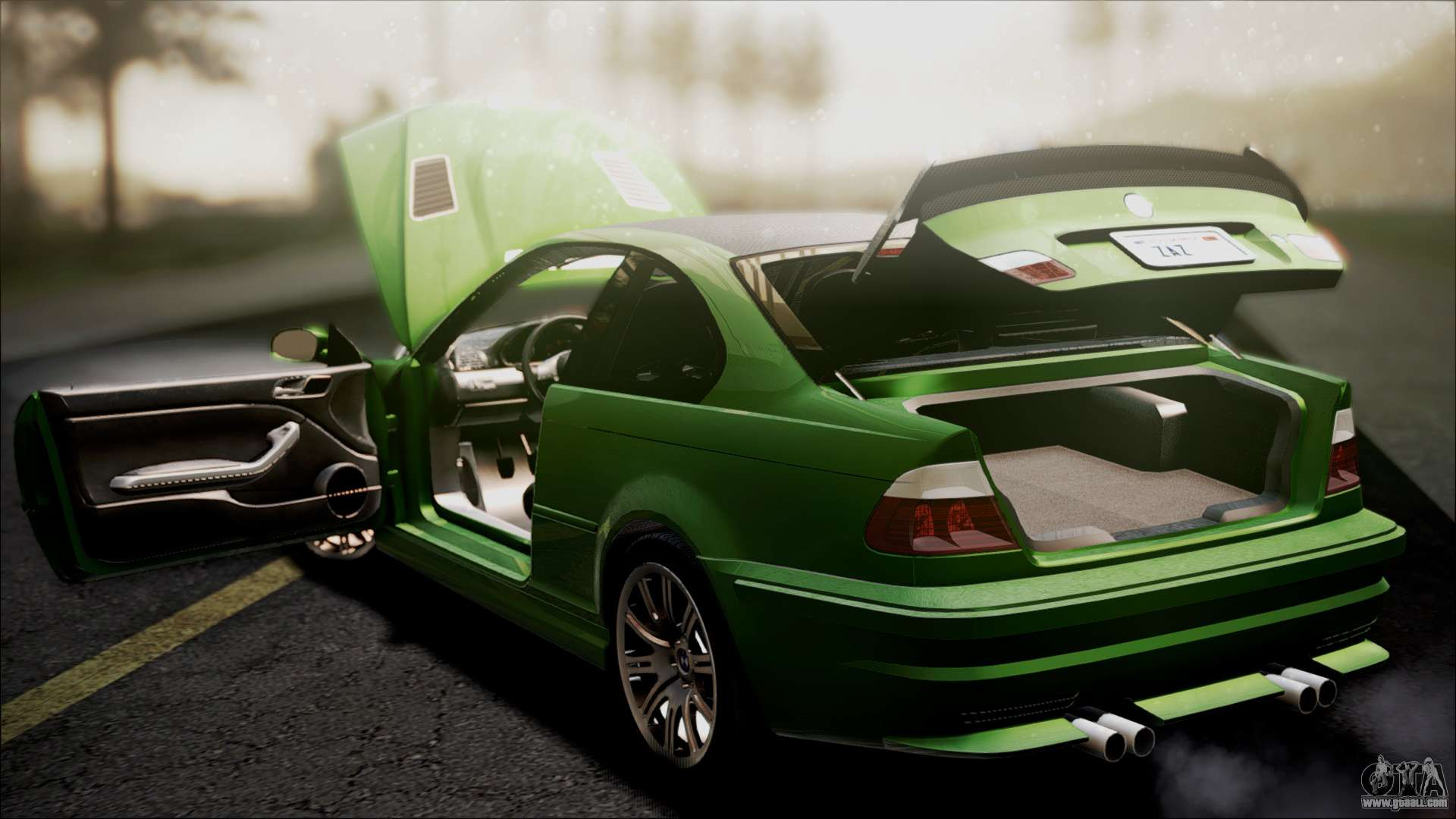 BMW M3 GTR Street Edition for GTA San Andreas