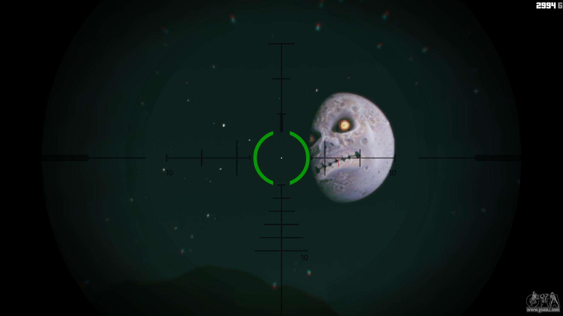 Majoras Mask Moon For Gta 5