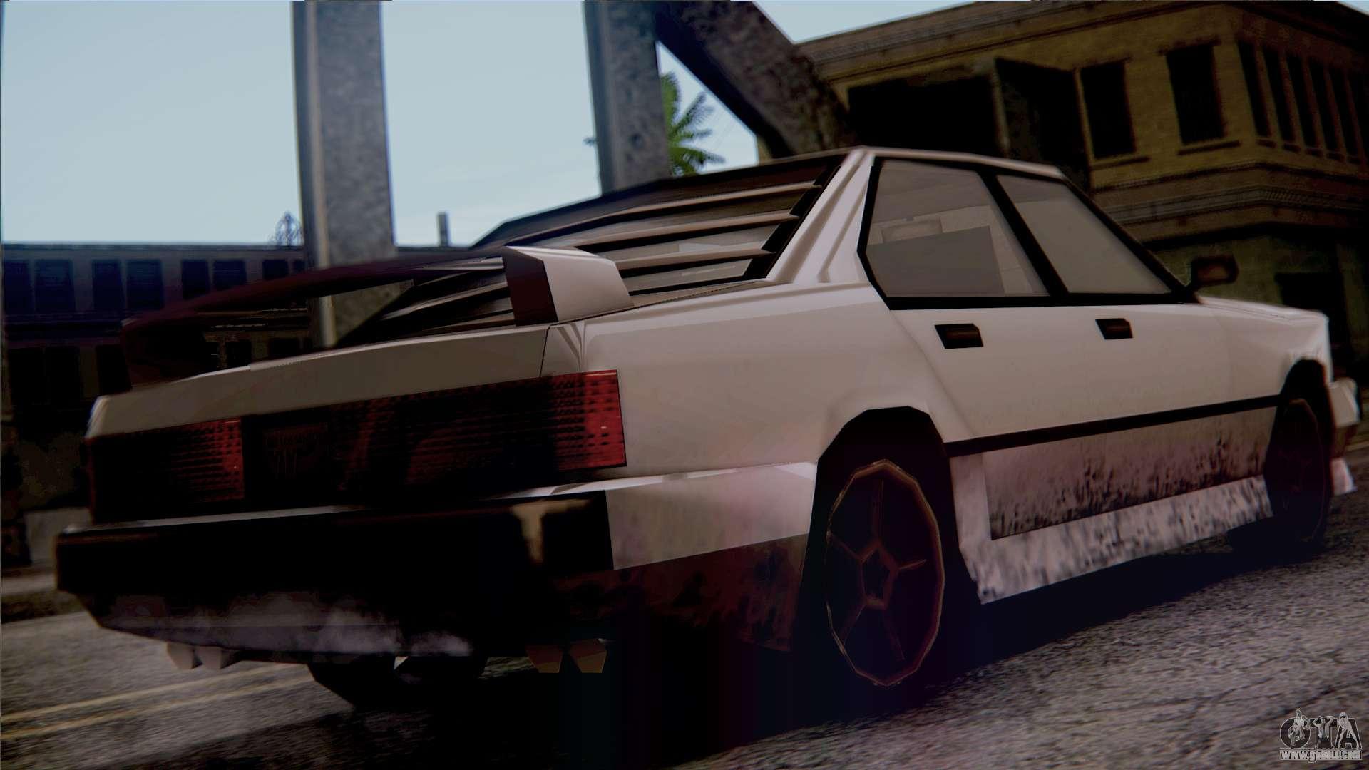 7 Passenger Vehicles >> Sentinel XS for GTA San Andreas