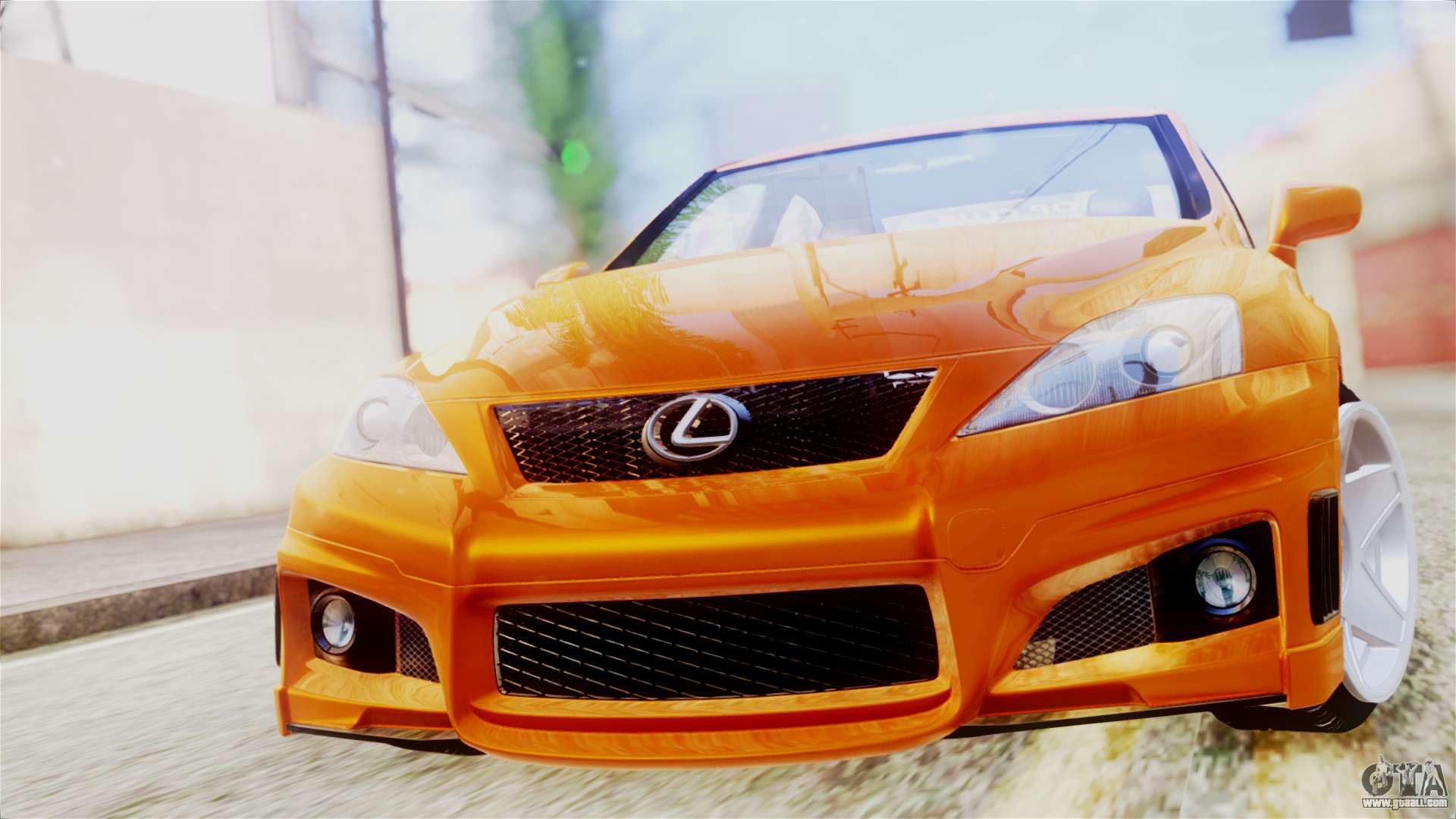 Lexus IS F for GTA San Andreas