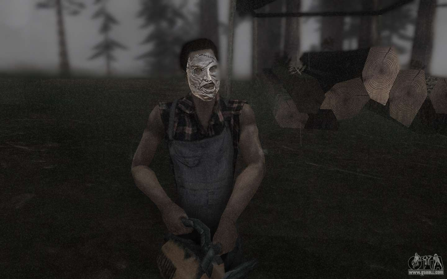 leatherface wallpaper